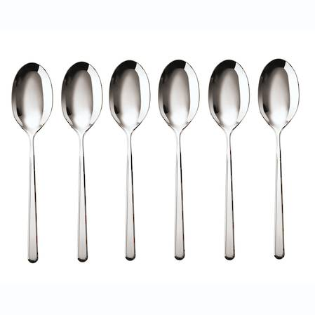 Linear Tea / Coffee Spoon Set 6