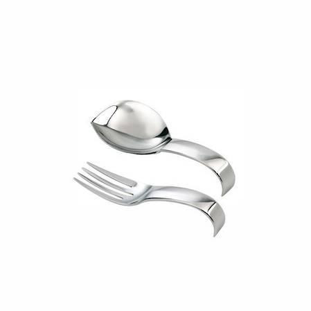 Living Short Handled Spoon & Fork