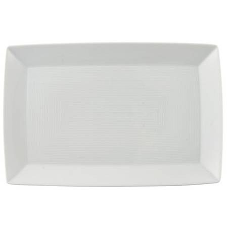 Loft White Rectangular Platter