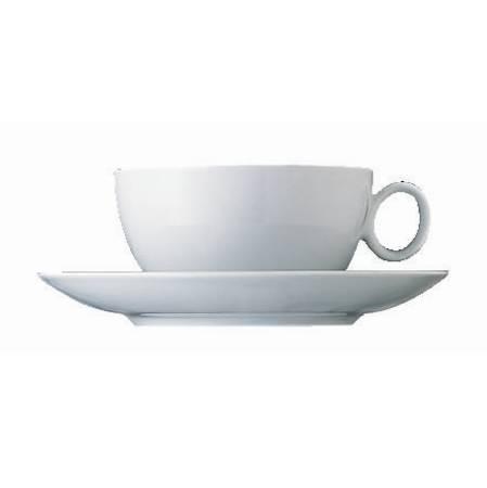 Loft White Tea/Coffee Cup & Saucer