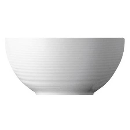Loft White Serving Bowl