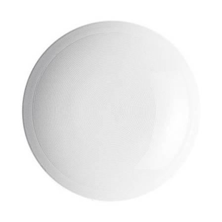 Loft White Deep Plate 24cm