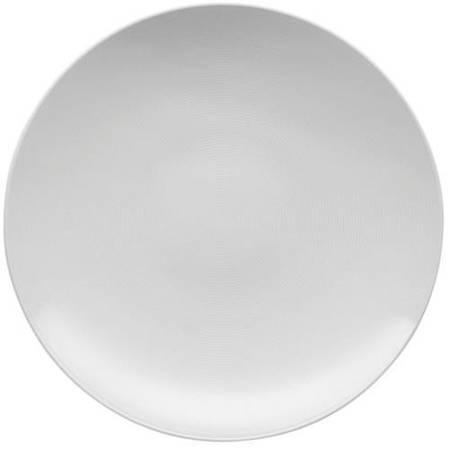 Loft White Round Service Plate