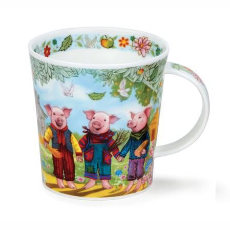 "Dunoon Fairy Tales ""The Three Little Pigs"" Mug"