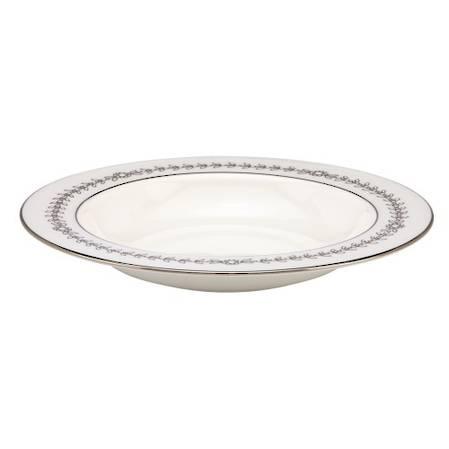 Empire Pearl Pasta / Rimmed Soup Bowl