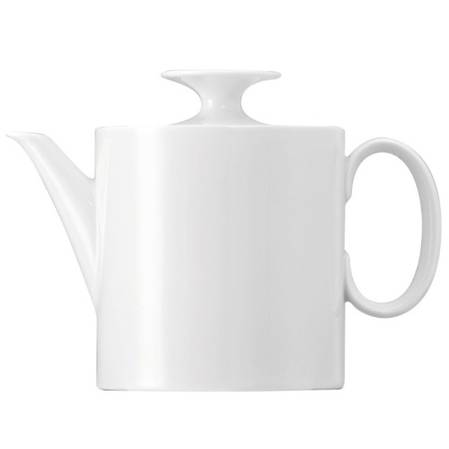 Medallion White Tea Pot