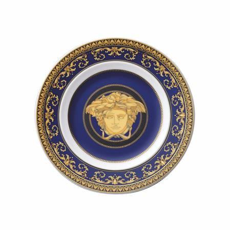 Medusa Blue Plate 18cm