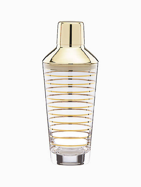 melrose avenue gold stripe shaker