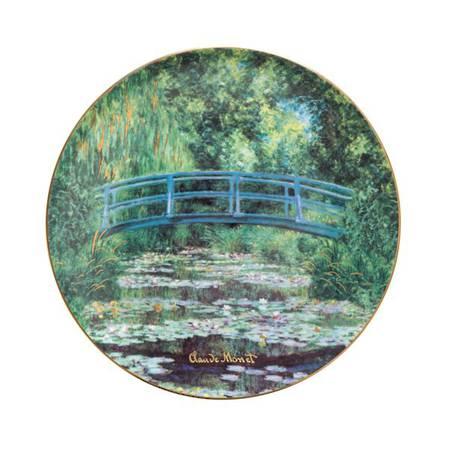 Monet Japanese Garden Plate