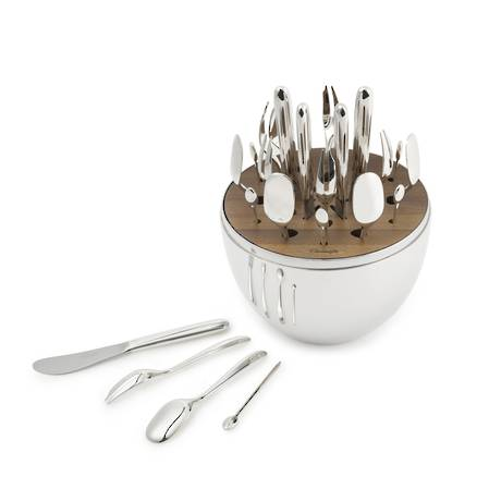 Mood Party Cutlery Accessory Set in Egg