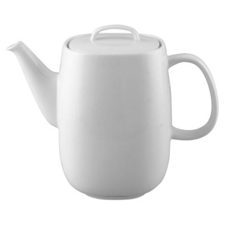 Moon White Coffee Pot
