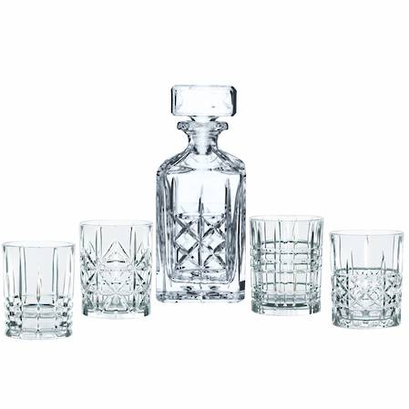 Highland Decanter Set 5 Piece