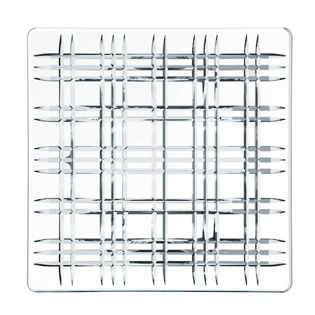 Square Plate 28cm