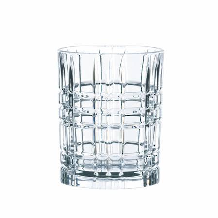 Square Whisky Tumbler Set 4