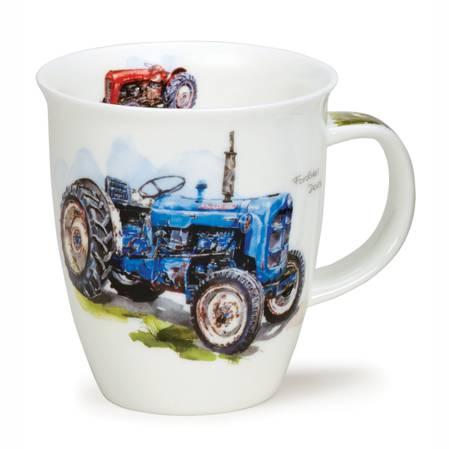 Dunoon Blue Tractor Mug