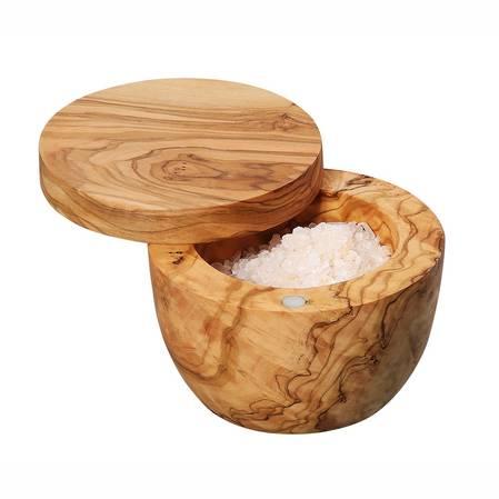 Zassenhaus Olive Wood Salt Pot