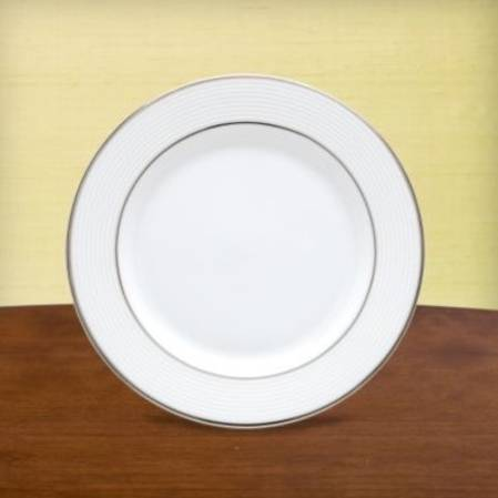 Opal Innocence Stripe Side Plate