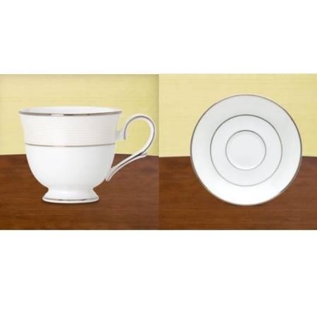 Opal Innocence Stripe Cup & Saucer
