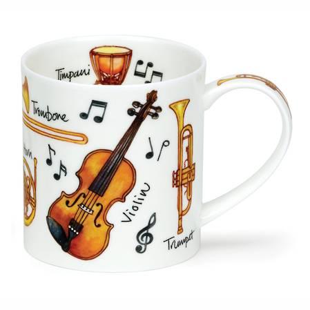 Dunoon Music Instruments Mug