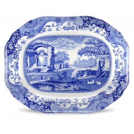 Blue Italian Oval Platter - 2 sizes