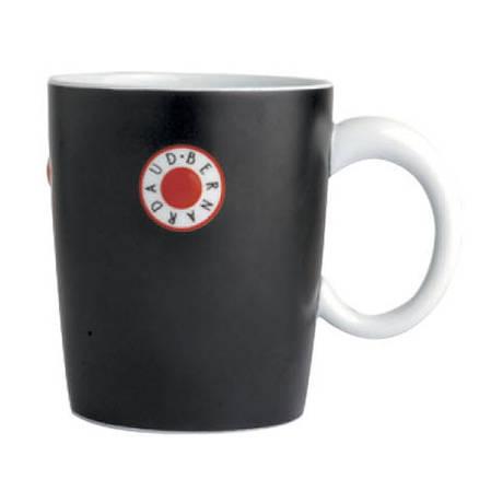 Paros Mug Black / Red