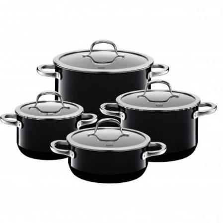 Silit Passion Black Cookware Set 4 Piece