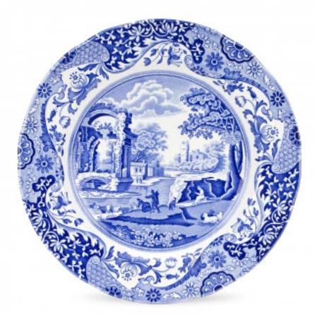 Blue Italian Dinner Plate