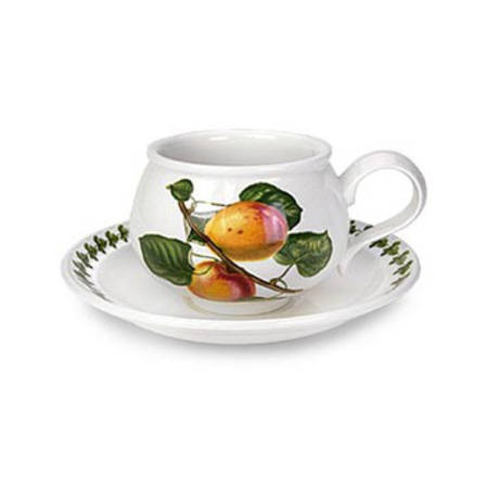 Pomona Tea Cup & Saucer (Romantic)