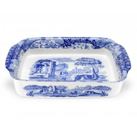 Blue Italian Rectangular Dish - 2 sizes