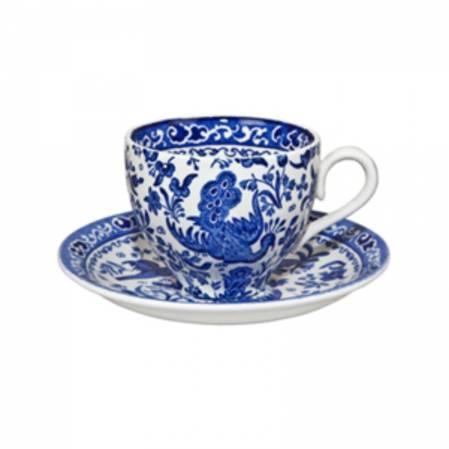 Regal Peacock Tea Cup & Saucer