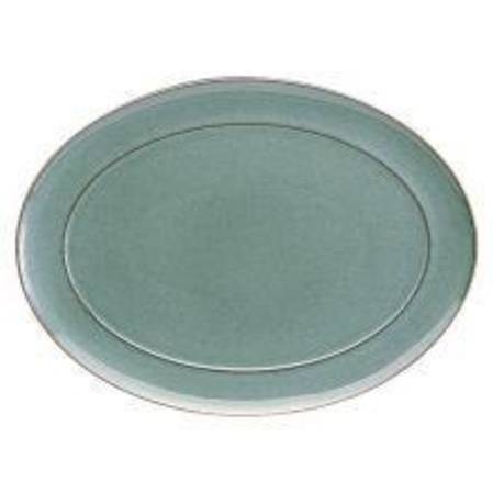 Regency Green Oval Platter