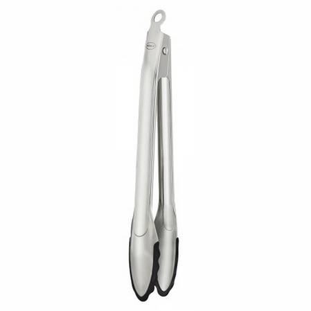 Rosle Locking Tongs 30cm Silicone Edge
