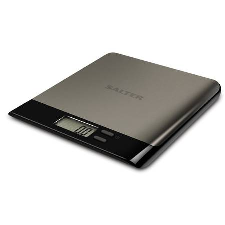 Salter Arc Pro Stainless Steel Electronic Kitchen Scale