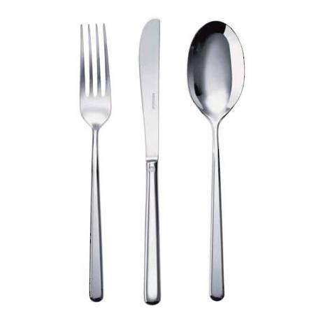 Linear 58 Piece Cutlery Set