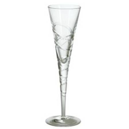 Saturn Nouveau Champagne Flute Pair