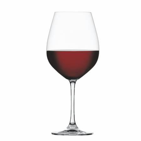 Salute Burgundy Glass Set of 4
