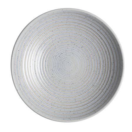Studio Blue Pebble Medium Ridged Bowl