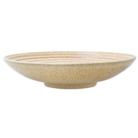 Studio Craft Large Ridged Bowl Elm