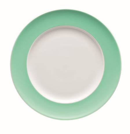 Sunny Day Baltic Green Lunch Plate