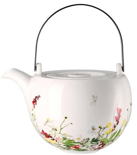 Fleurs Sauvages Tea Pot
