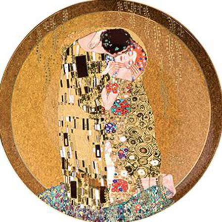 Klimt The Kiss Plate 36cm