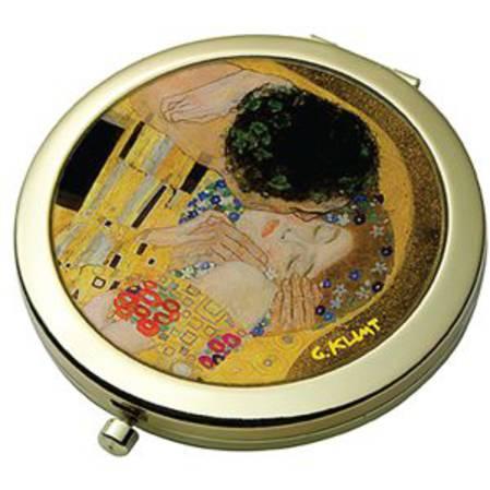 The Kiss - Klimt Pocket Mirror