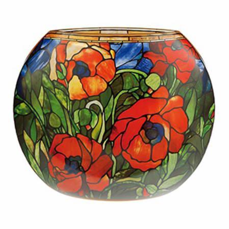Tiffany Oriental Poppy Vase