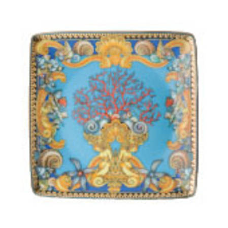 Les Tresors de la Mer Versace Square Dish Flat 12cm