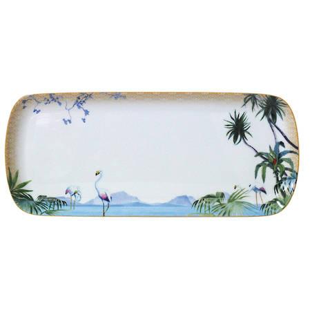 Tropiques Rectangular Cake Plate