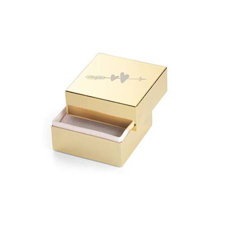 two hearts ring box
