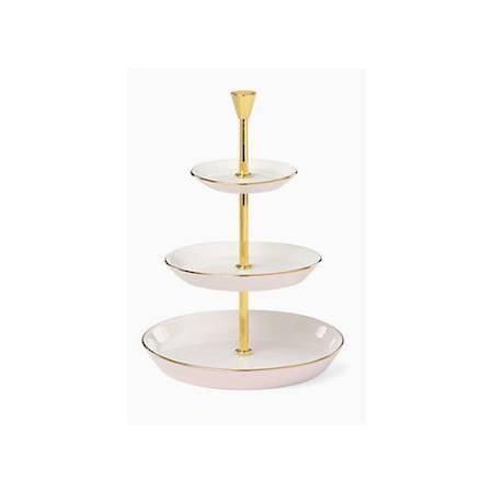 two hearts 3 tiered jewellery stand