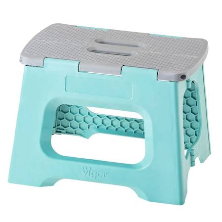 Vigar Compact Turquoise Stool 23cm