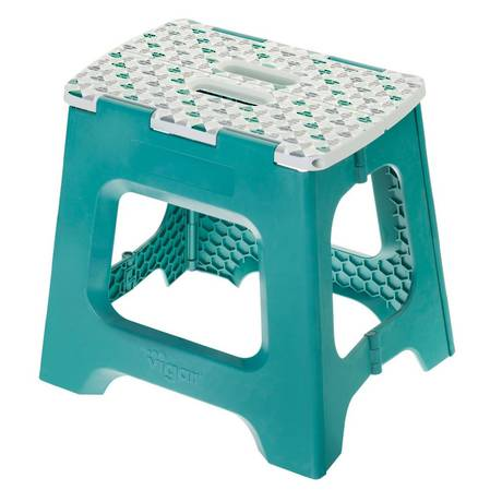 Vigar Compact Geometric Top Stool 32cm