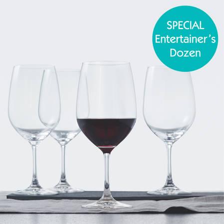 Entertainers Vino Grande Bordeaux Glass Set